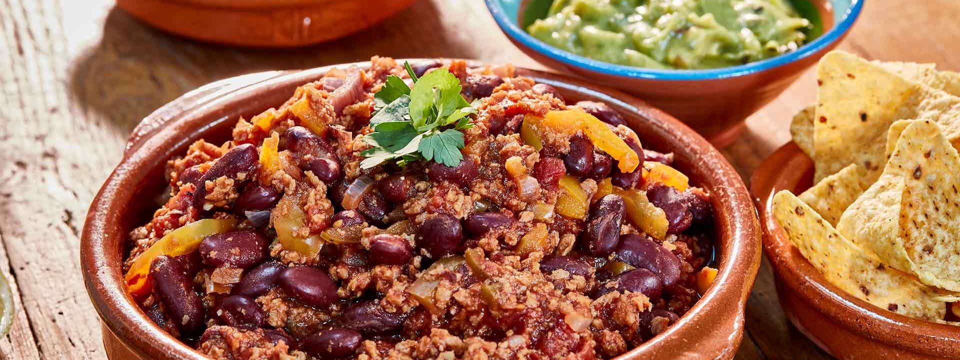 Simpleas vegan chilli